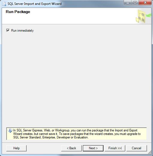 Exporting SQL Server Data with SQL Server Management Studio Import