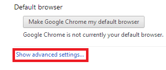 ChromeShowAdvanceSettings