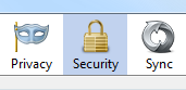 FirefoxSecurityButton