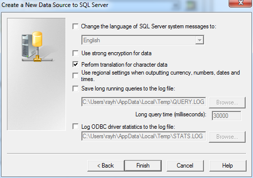 CreateNewDataSourceToSQLServer4