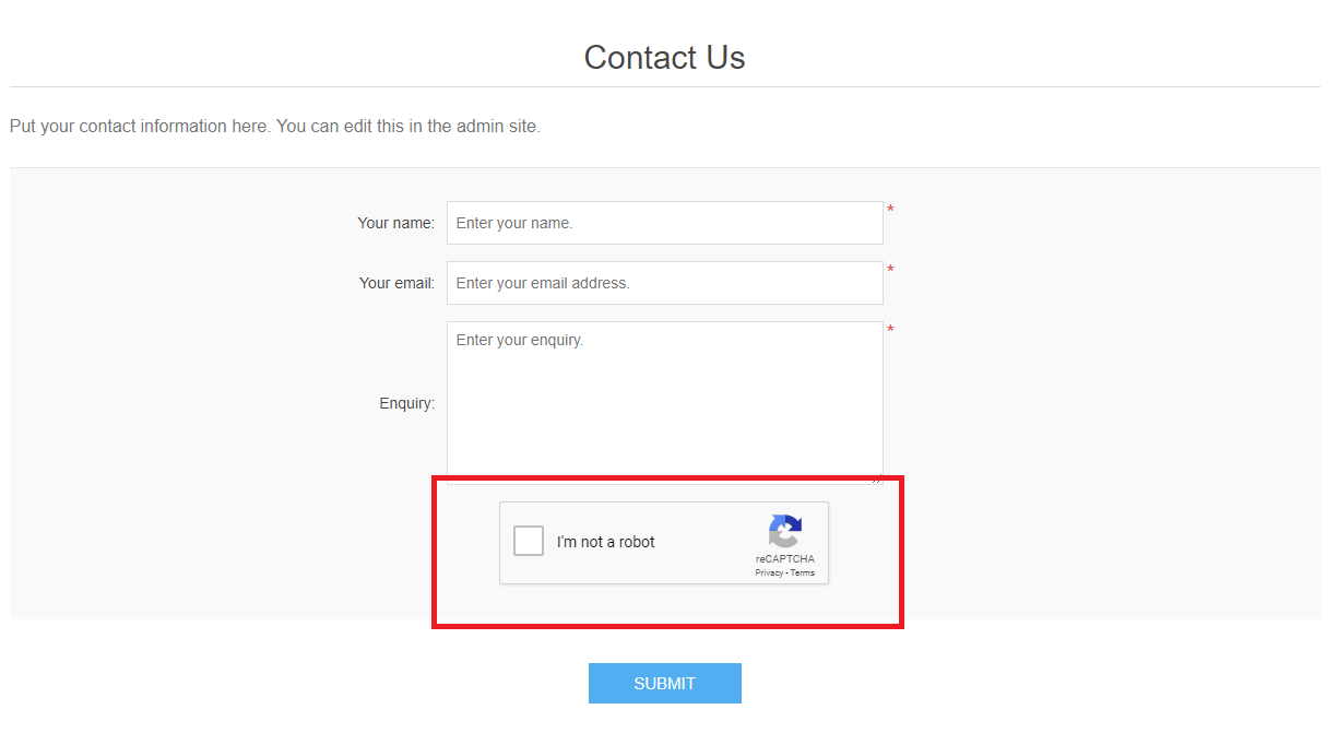 How to enable CAPTCHA on your nopCommerce store   Winhost blog