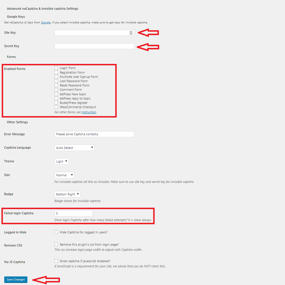 How to add reCAPTCHA to your WordPress Site   Winhost blog